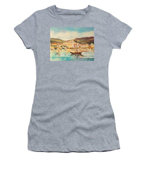 Mentone Harbour Women's T-Shirt (Athletic Fit)