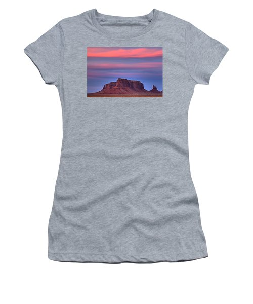 Monument Valley Sunset Women's T-Shirt (Junior Cut) by Alan Vance Ley