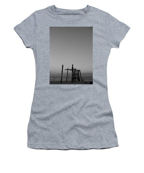 Pier Portrait Women's T-Shirt (Athletic Fit)