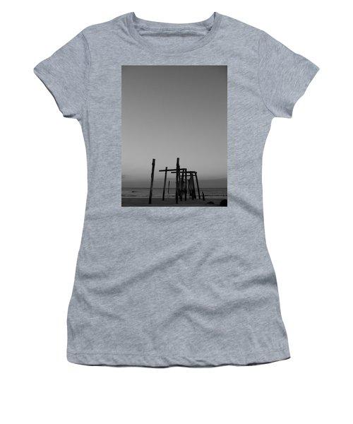 Pier Portrait Women's T-Shirt (Athletic Fit)