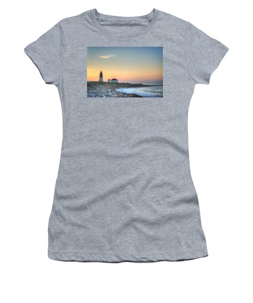 Point Judith Lighthouse Women's T-Shirt