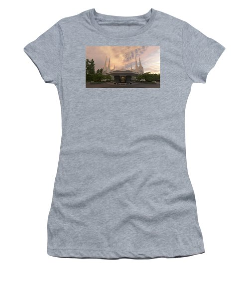 Portland Temple Women's T-Shirt (Athletic Fit)