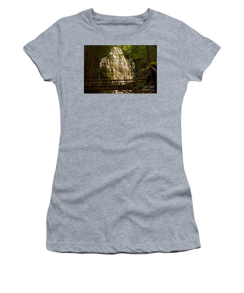Ramona Falls Women's T-Shirt (Athletic Fit)