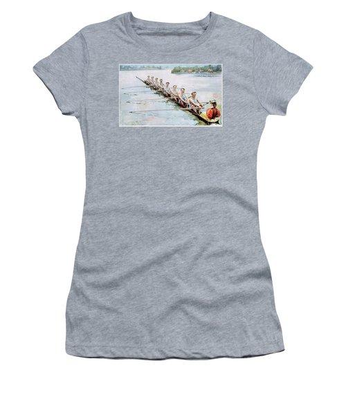 Rowing, C1900 Women's T-Shirt