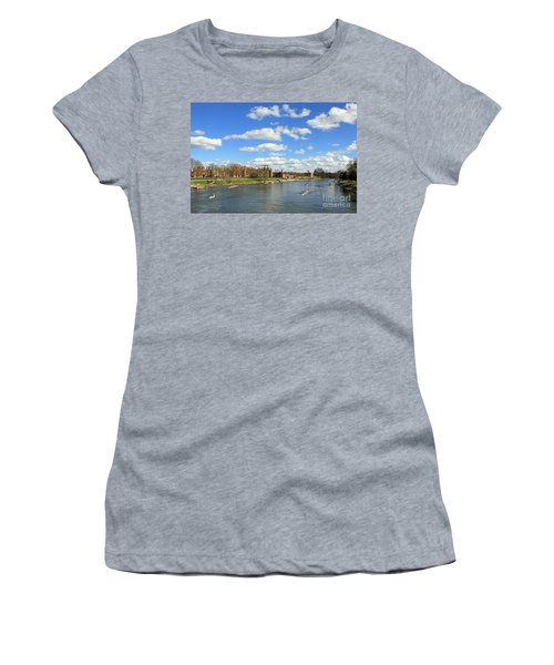 Rowing On The Thames At Hampton Court Women's T-Shirt