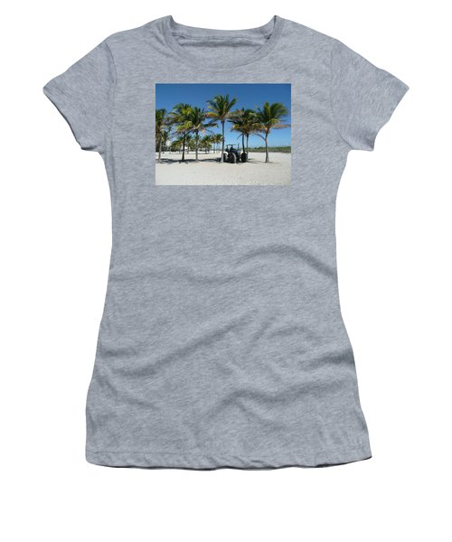 Sand Farm Women's T-Shirt (Athletic Fit)
