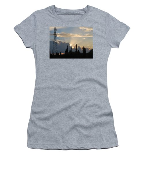 Sunrise Women's T-Shirt (Junior Cut) by George Katechis