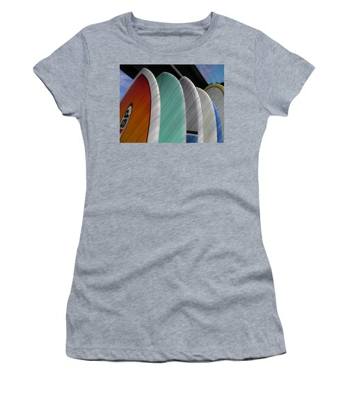 Surf Break Women's T-Shirt (Athletic Fit)