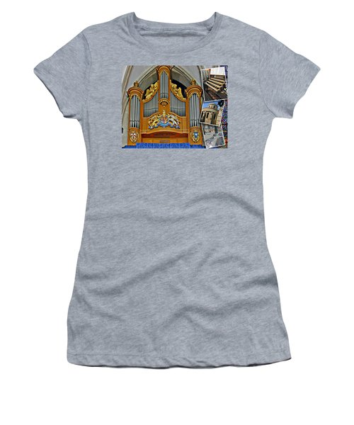 Temple Church London Women's T-Shirt (Athletic Fit)