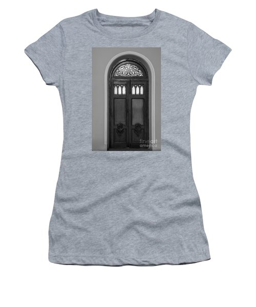 The Closed Door Women's T-Shirt (Athletic Fit)