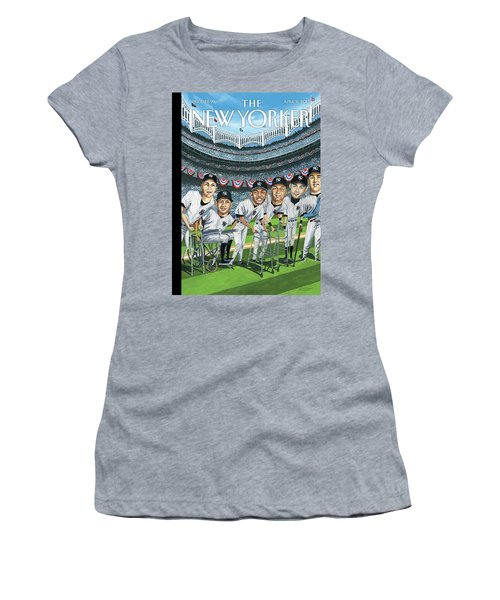 New Yorker April 8th, 2013 Women's T-Shirt (Athletic Fit)