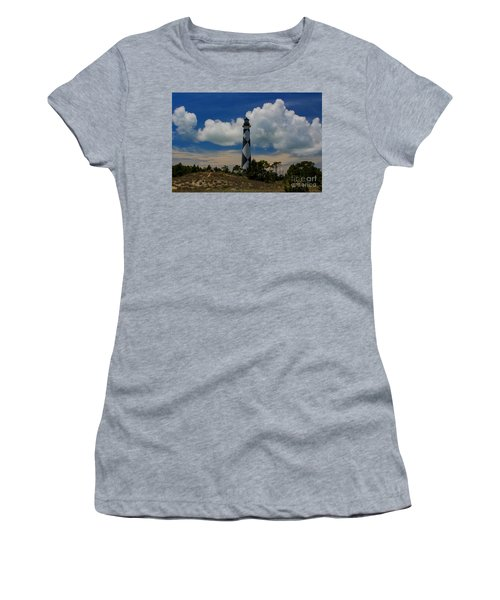 Cape Lookout Lighthouse Women's T-Shirt (Athletic Fit)