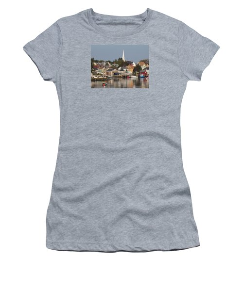 New Castle Harbor Nh Women's T-Shirt (Athletic Fit)