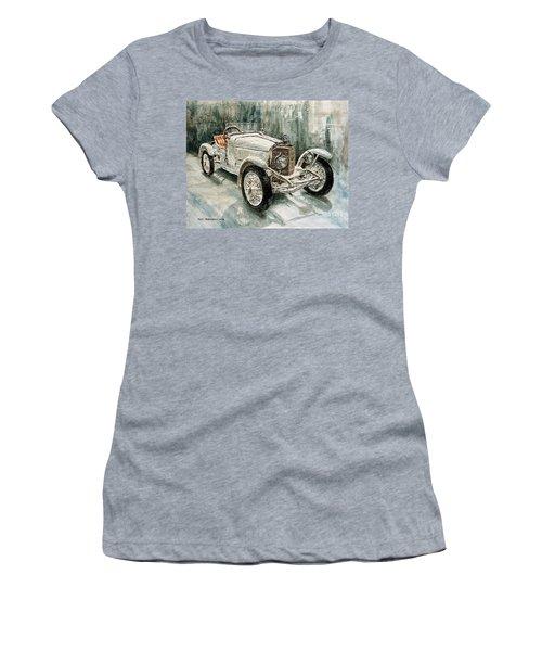 1923 Mercedes Ps Sport- Zweisitzer Women's T-Shirt (Junior Cut) by Joey Agbayani