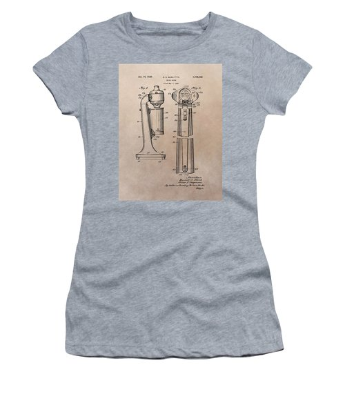 1930 Drink Mixer Patent Women's T-Shirt (Junior Cut) by Dan Sproul