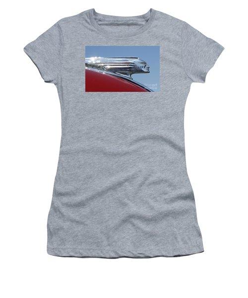 1939 Pontiac Hood Ornament Women's T-Shirt
