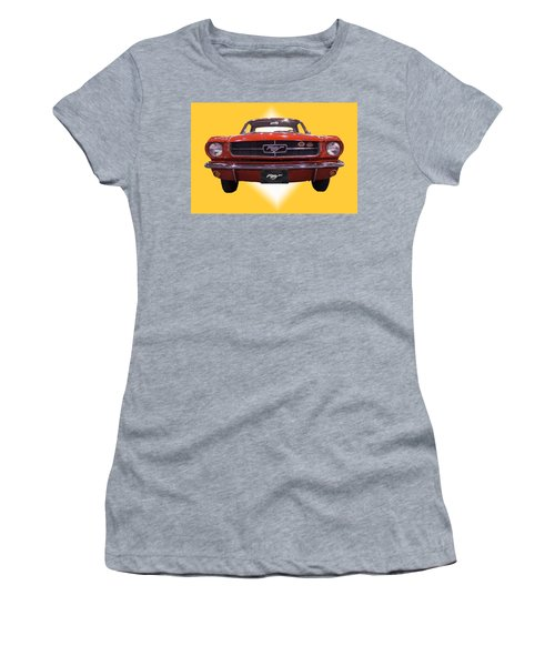 1964 Ford Mustang Women's T-Shirt (Athletic Fit)