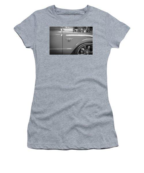 1967 Chevy Silverado Pick Up Truck  Bw Women's T-Shirt