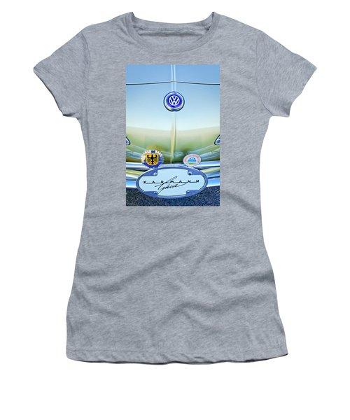 1967 Volkswagen Vw Karmann Ghia Hood Emblem Women's T-Shirt