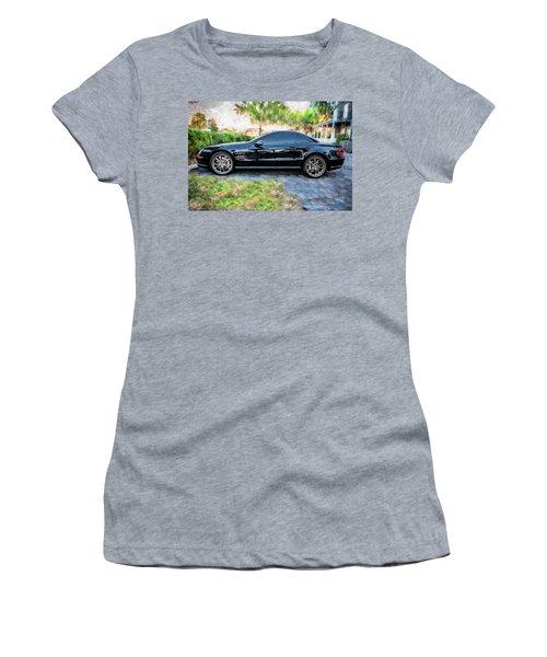 2006 Mercedes Benz Sl55 V8 Kompressor Coupe Painted  Women's T-Shirt