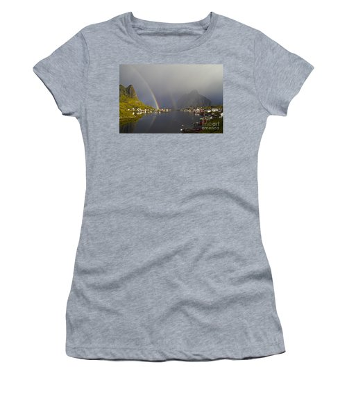 After The Rain In Reine Women's T-Shirt