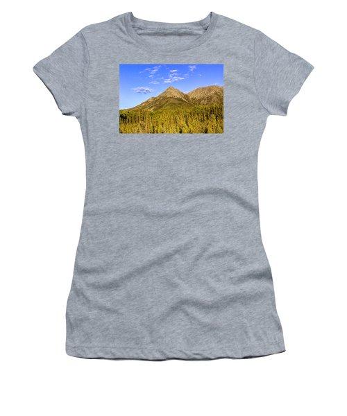 Alaska Mountains Women's T-Shirt (Athletic Fit)