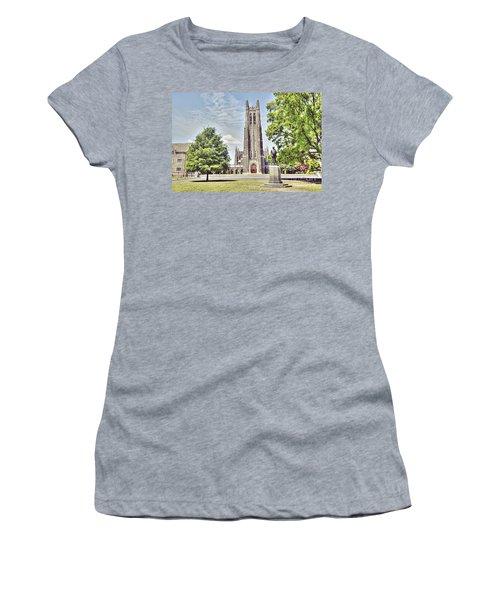 Duke Chapel In Spring Women's T-Shirt