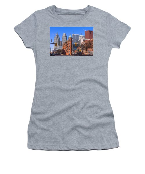 Flatiron Building In Toronto Women's T-Shirt (Athletic Fit)