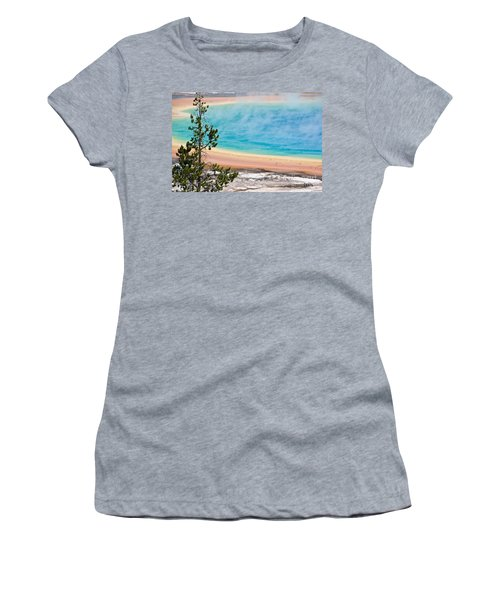 Grand Prismatic Spring Women's T-Shirt (Athletic Fit)