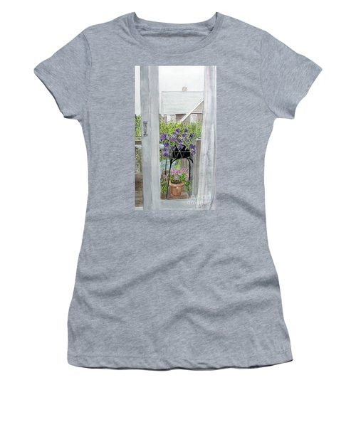 Nantucket Room View Women's T-Shirt (Athletic Fit)
