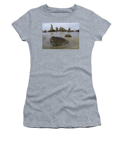 Seastacks At Low Tide Women's T-Shirt