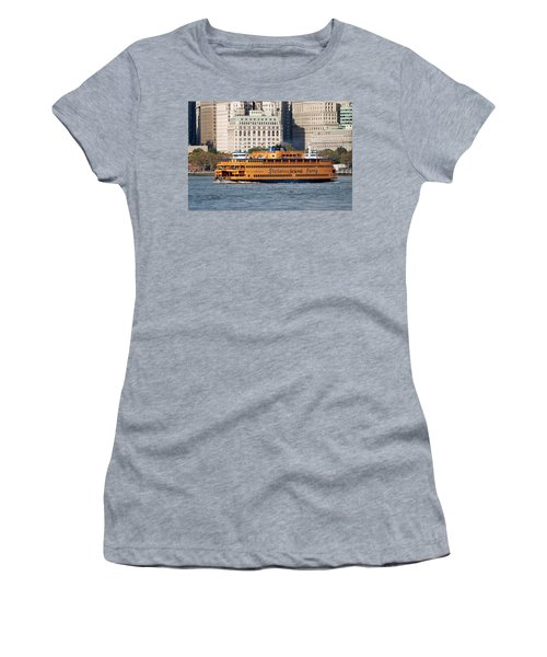 Staten Island Ferry Women's T-Shirt (Athletic Fit)