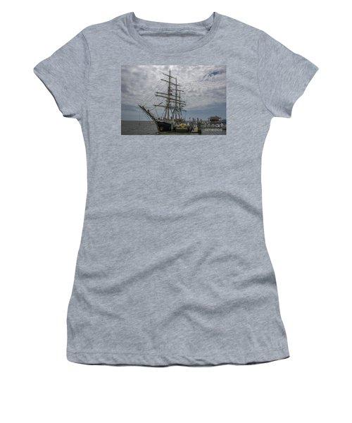 Tall Ship Gunilla Women's T-Shirt (Junior Cut) by Dale Powell
