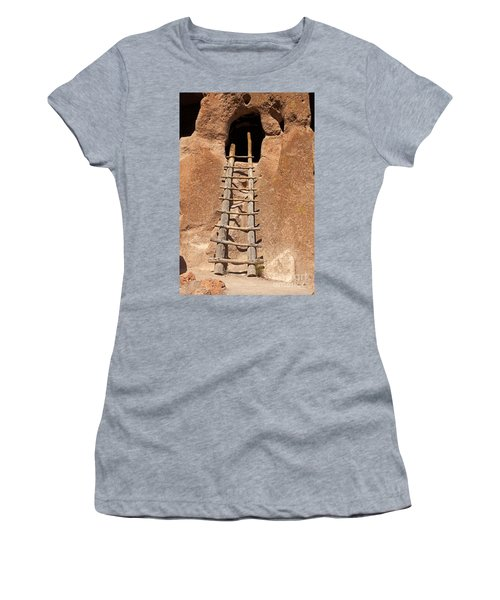 Talus House Front Door Bandelier National Monument Women's T-Shirt