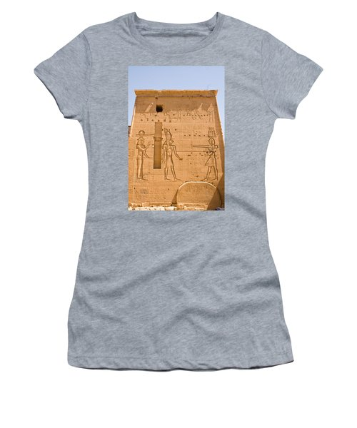 Temple Wall Art Women's T-Shirt (Athletic Fit)
