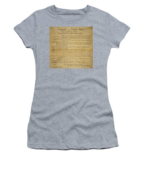 The Bill Of Rights, 1789 Women's T-Shirt