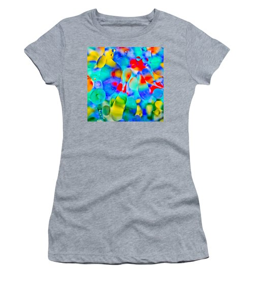 Touch/respond Women's T-Shirt (Athletic Fit)