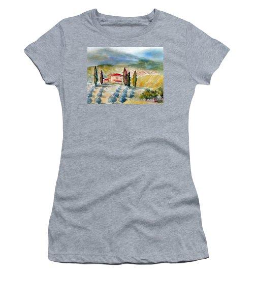 Tuscan Landscape Women's T-Shirt