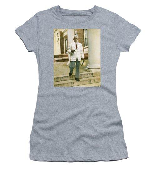Women's T-Shirt (Junior Cut) featuring the photograph William Faulkner (1897-1962) by Granger