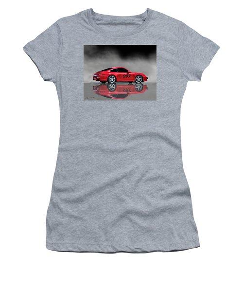 2009 Porsche Carrera Women's T-Shirt (Athletic Fit)