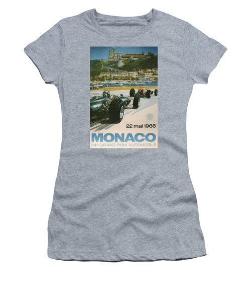 24th Monaco Grand Prix 1966 Women's T-Shirt