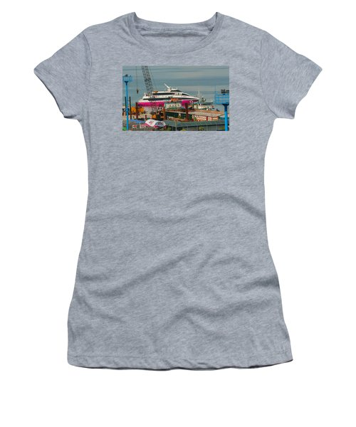 Women's T-Shirt (Junior Cut) featuring the photograph 2go Travel by Ester  Rogers