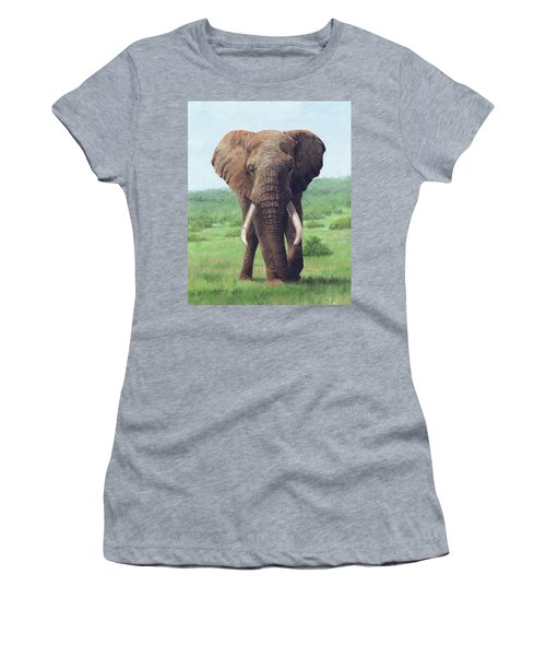 African Elephant Women's T-Shirt