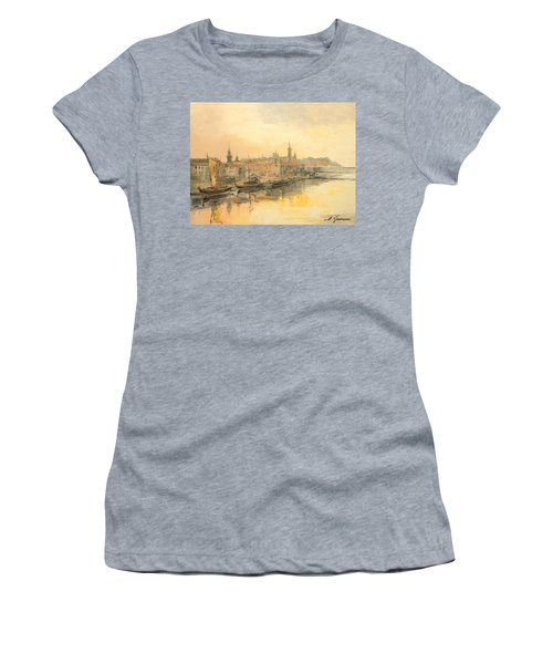 Old Warsaw - Wisla River Women's T-Shirt