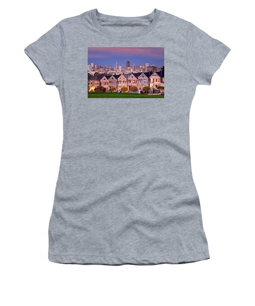 Women's T-Shirt featuring the photograph Painted Ladies by Brian Jannsen