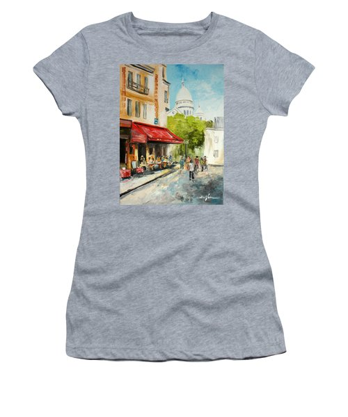 Paris Cafe Women's T-Shirt