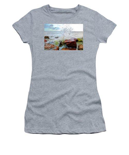 Quintana Jetty Women's T-Shirt (Junior Cut) by Savannah Gibbs