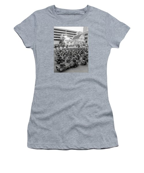 343 Boot Formation 2     Women's T-Shirt (Athletic Fit)