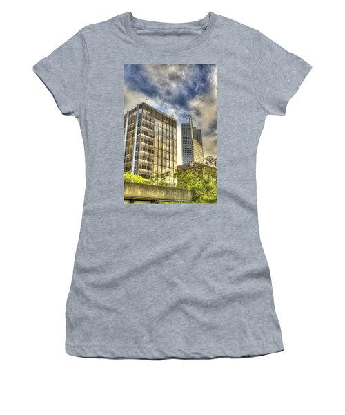345 California Center Two Flags Women's T-Shirt