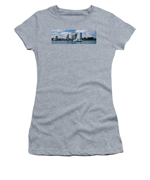 Buildings At The Waterfront, Lake Eola Women's T-Shirt